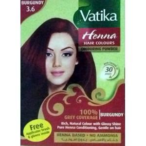 Vatika Henna Burgundy (印度海娜粉)