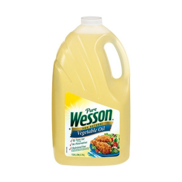 Wesson Vegetable Oil, 1gal