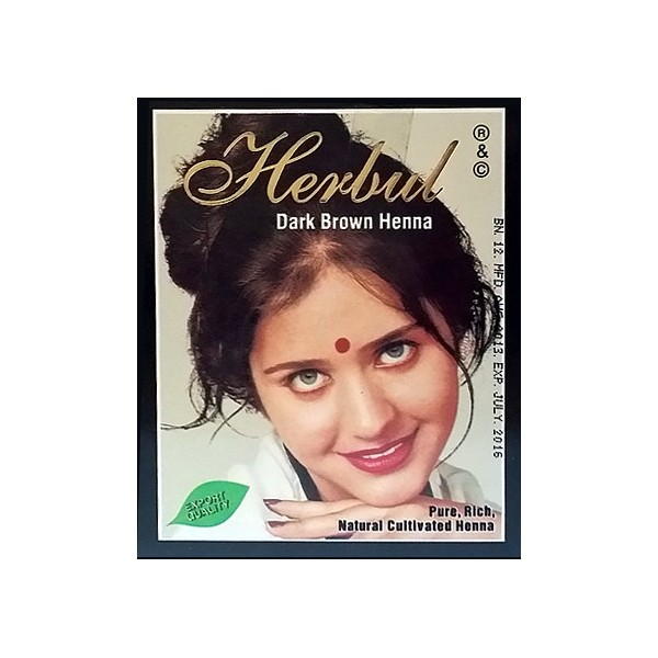 Herbal Dark Brown Henna