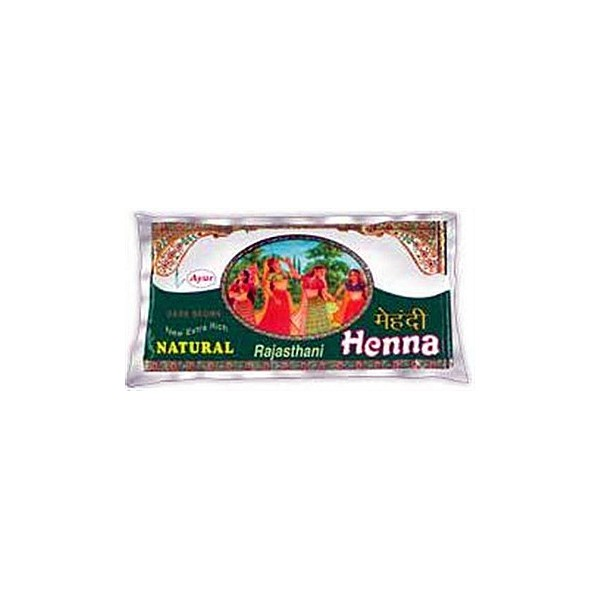 Ayur Dark Brown Henna - 200g