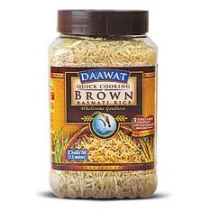 Daawat Brown Basmati Rice - 1KG