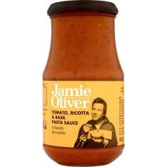 Jamie Oliver Tomato, Ricotta & Basil Pasta Sauce