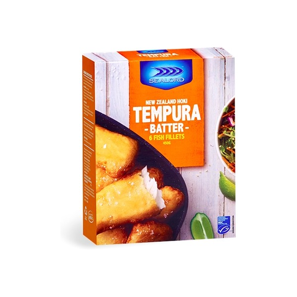 Sealord Tempura Batter Hoki Fillet