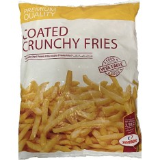 Coated Crunchy Fries - 2.5KG