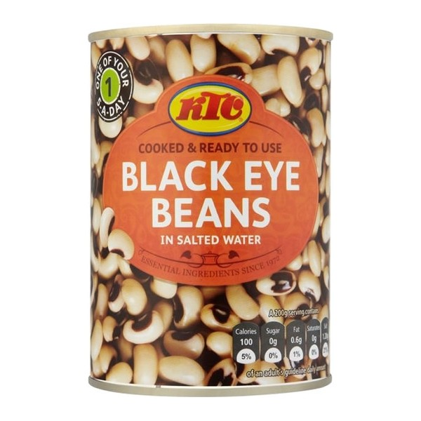 Ktc Black-Eye Beans - 400g