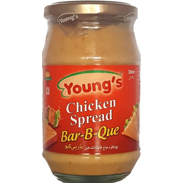 Young's Chicken BBQ Spread