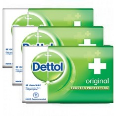 Dettol Soap (75g x 4 Bars)