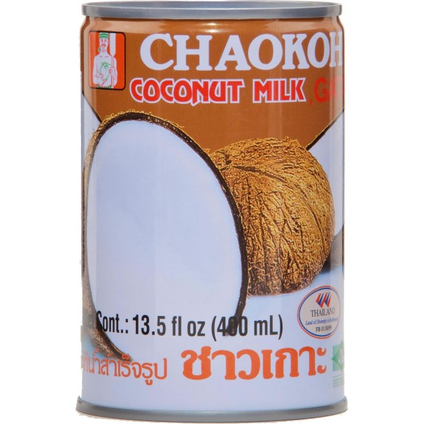 Chaokoh Coconut Milk, 400ml