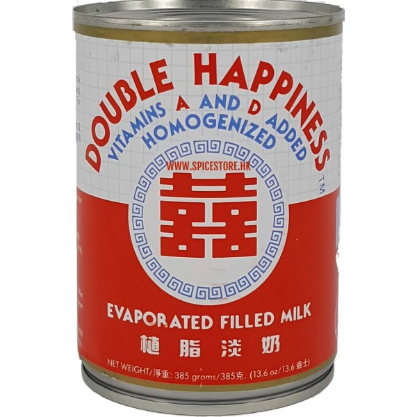 Double Happiness Evaporated Milk