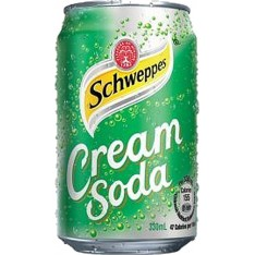 Schweppes Cream Soda x 4