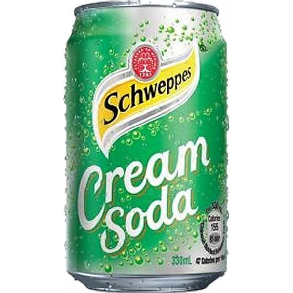 Schweppes Cream Soda x 4