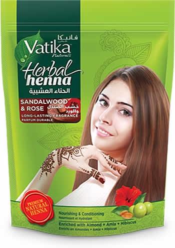 Vatika Sandalwood Rose Herbal Henna Spice Store