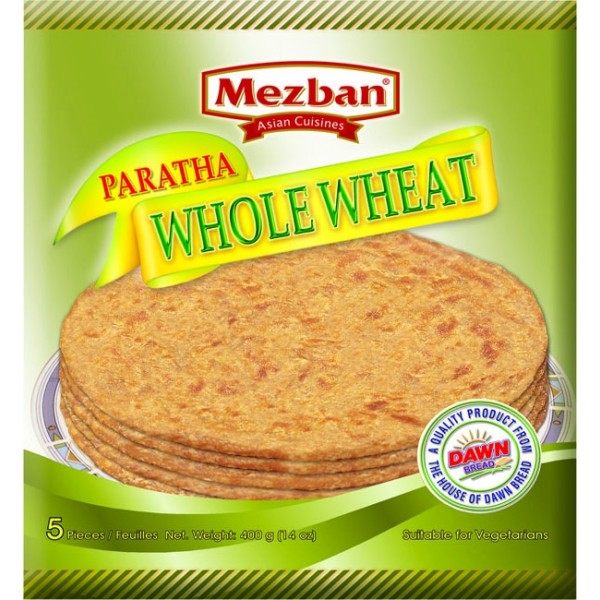 Mezban Whole Wheat Paratha 400g