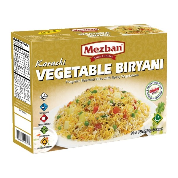 Mezban Karachi Vegetable Biryani