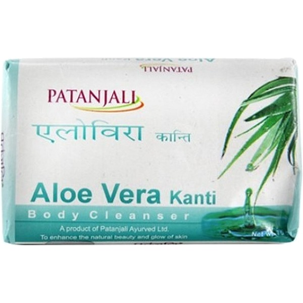 Patanjali Aloevera Body Cleanser Soap