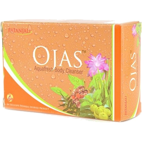 Patanjali Ojas Aquafresh Bodycleanser Soap