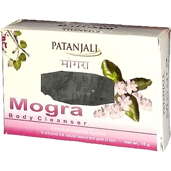 Patanjali Ojas Mogra Body Cleanser Soap