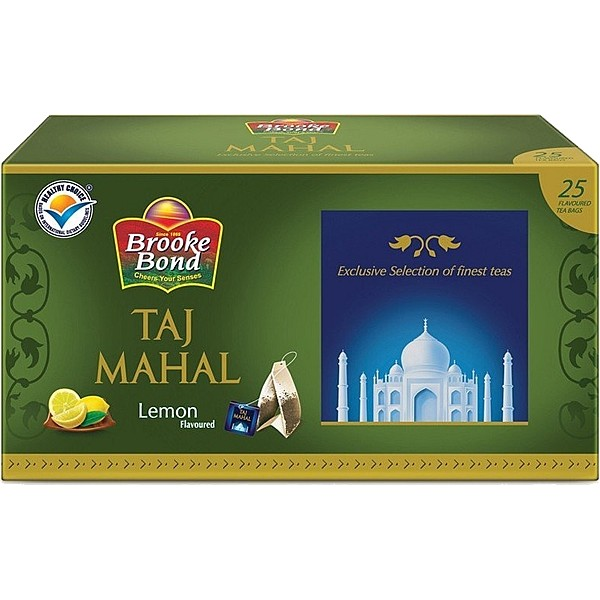 Taj Mahal Lemon Tea Bags 25s