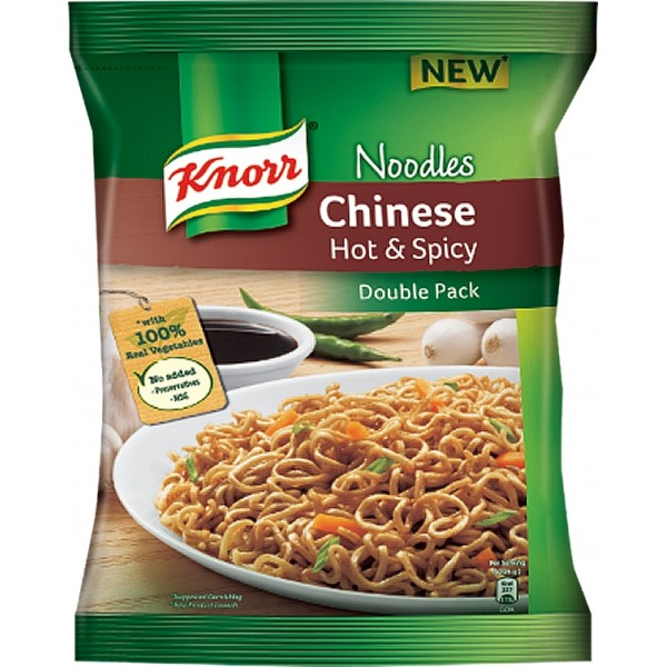 Knorr Chinese Hot & Spicy Noodles (Pack of 5)