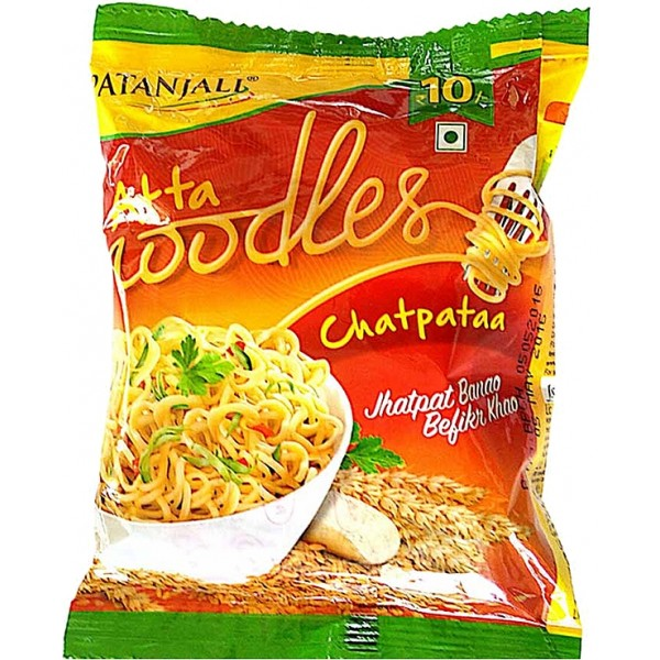 Patanjali Atta Chatpata Noodles (Pack of 5)