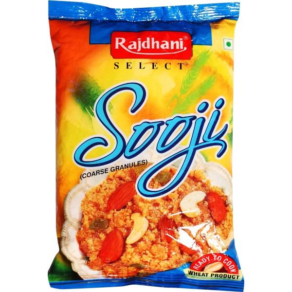 Rajdhani Sooji (Semolina) 500g