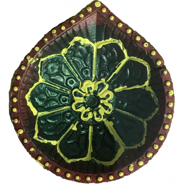 Earthern Diya (4 Pieces)