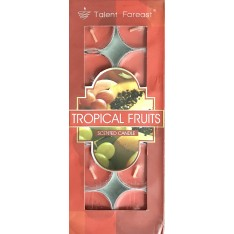 Tropical Fruits Scented Candle (10 Pieces)