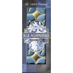 Blue Agapanthus Scented Candle (10 Pieces)