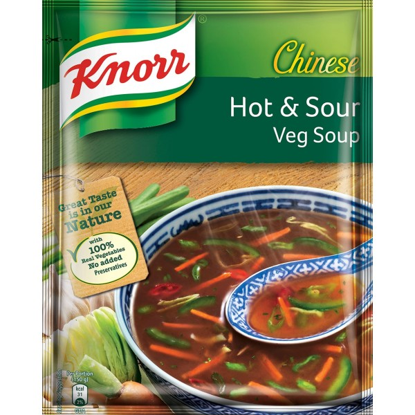 Knorr Hot and Sour Vegetarian Soup