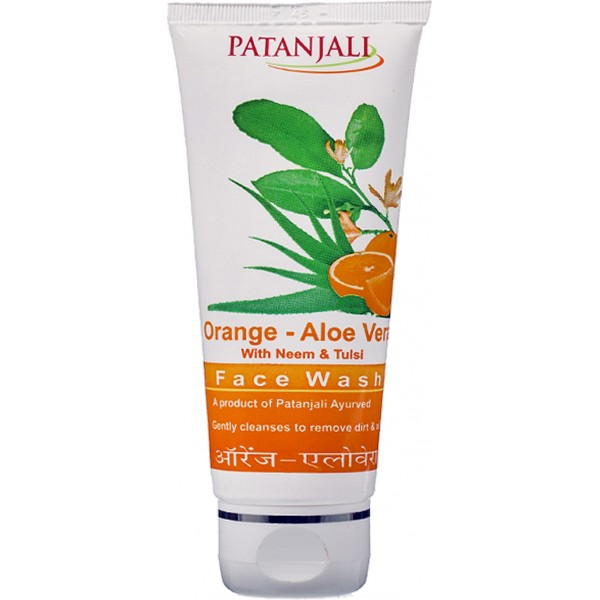 3d47f0370901 Patanjali Orange Aloevera Face Wash - Spice Store