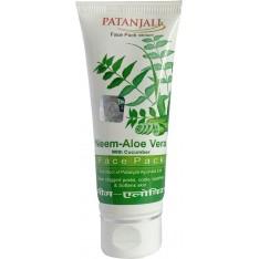 Patanjali Neem Aloevera Cucumber Face Pack