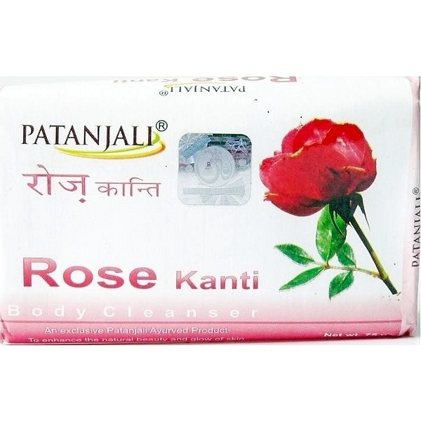 Patanjali Rose Body Cleanser Soap