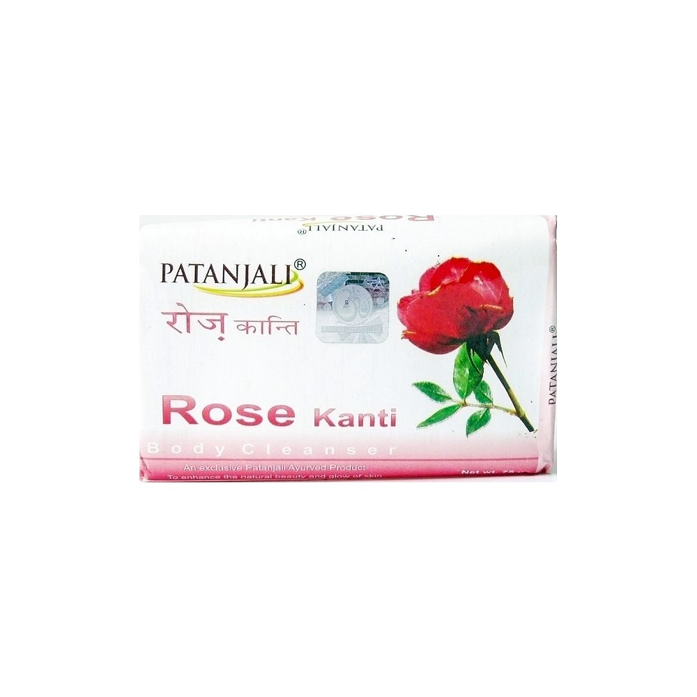 Patanjali Rose Body Cleanser Soap Spice Store Sabun Herbal
