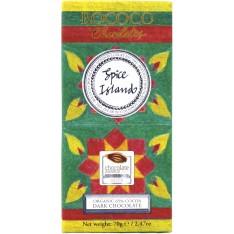 Rococo's Organic Spice Island Dark Chocolate