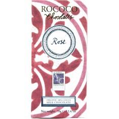 Rococo's Organic Rose Milk Chocolate