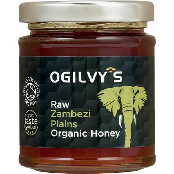 Ogilvy's Raw Zambezi Plains Organic Honey