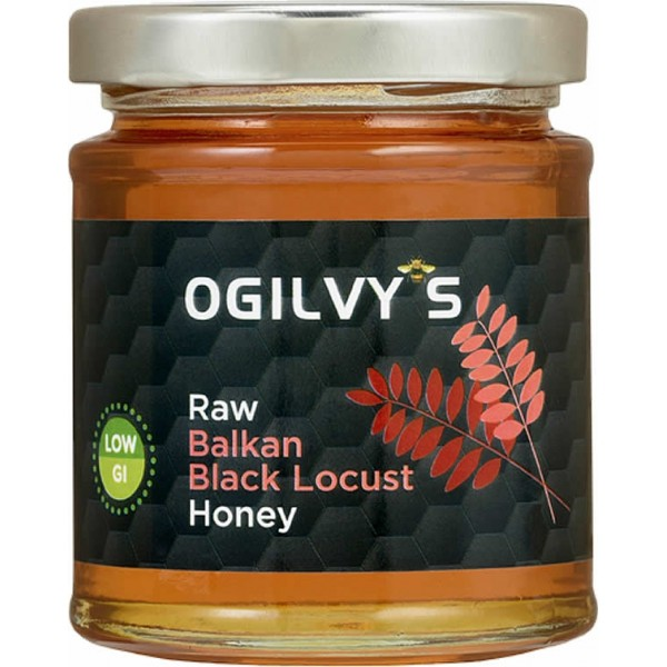 Ogilvy's Raw Balkan Black Locust Organic Honey