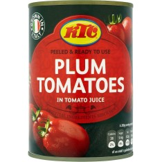 KTC Plum Tomatoes, 400g