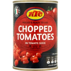 KTC Chopped Tomatoes, 400g