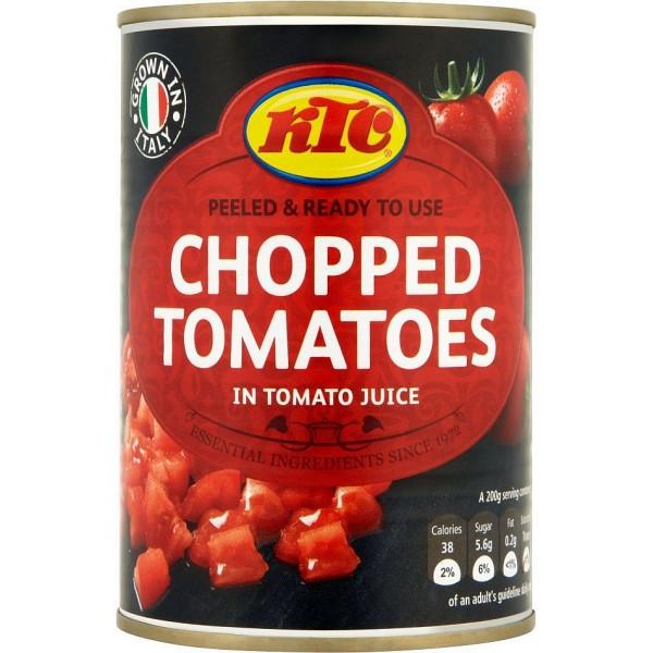 KTC Chopped Tomatoes, 400g