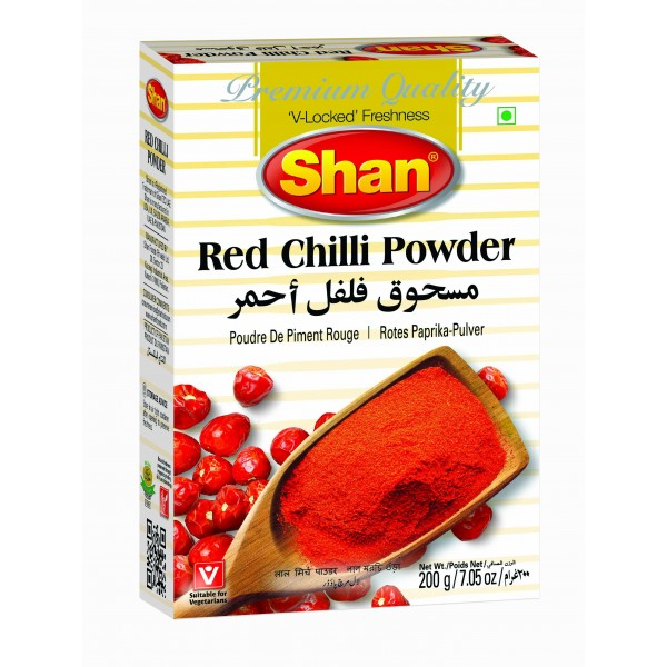Shan Red Chilli Powder 200 Grams