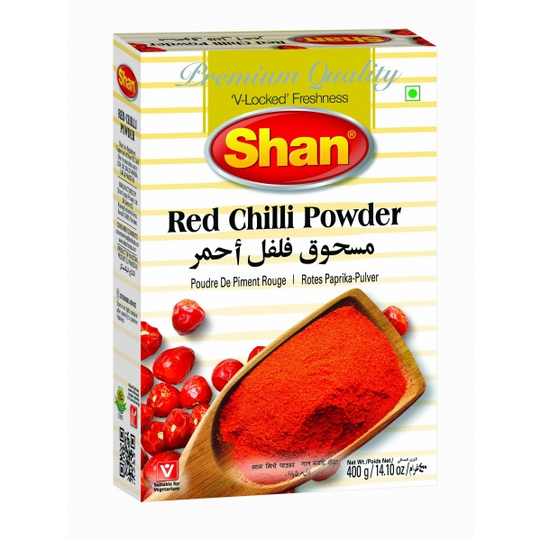 Shan Red Chilli Powder 400 Grams