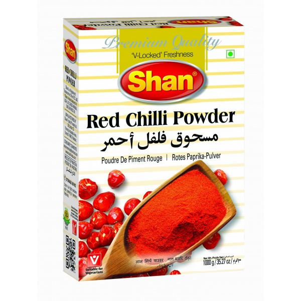 Shan Red Chilli Powder, 1KG