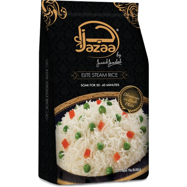 Jazaa Elite Steam Basmati Rice, 1KG