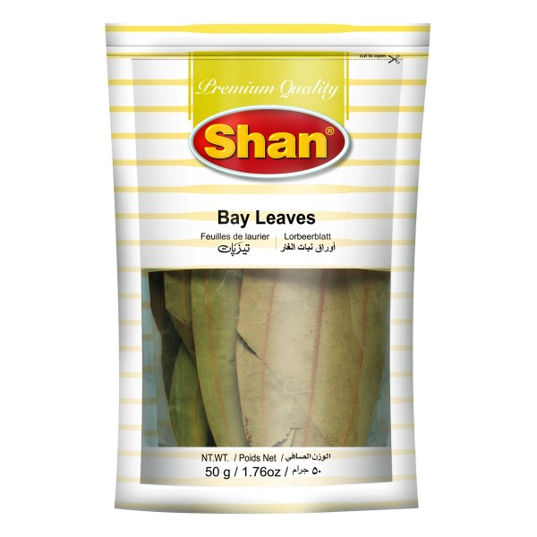 Shan Bay Leaves Whole, 25g