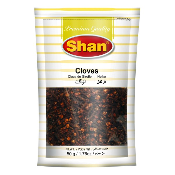 Shan Cloves Whole, 50g