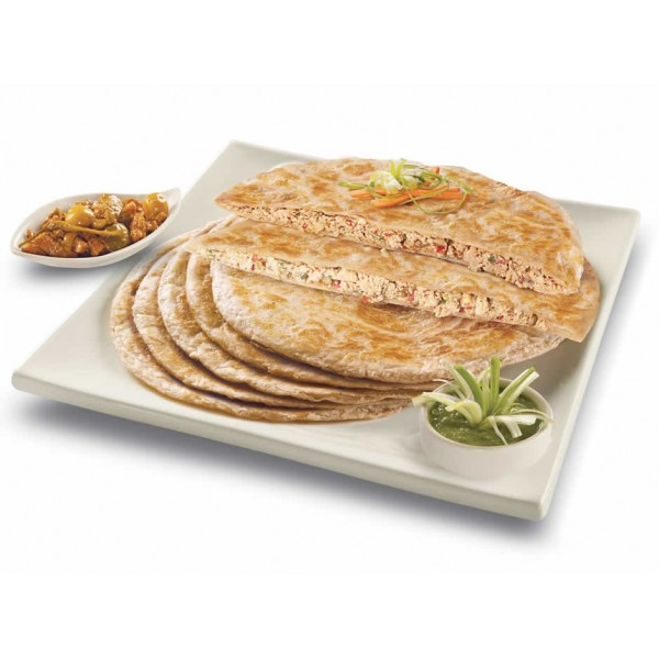 Menu Chicken Paratha, 4pcs