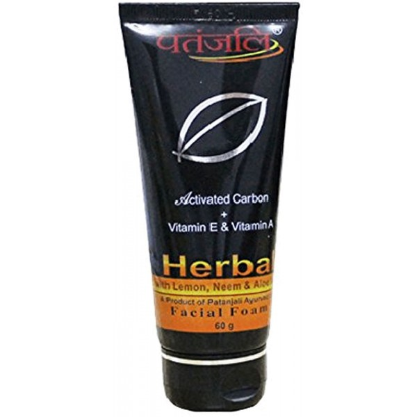 Patanjali Activated Carbon Facial Foam