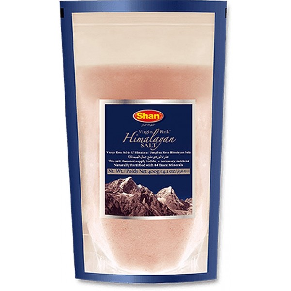 Shan Virgin Pink Himalayan Salt, 400g