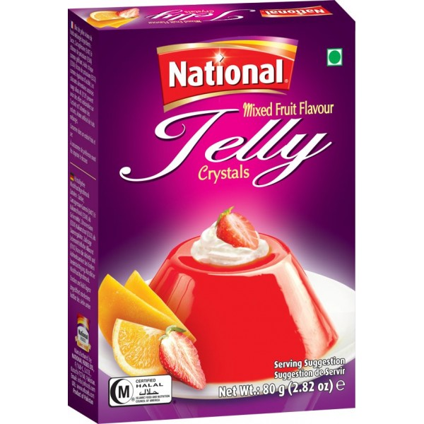 National Mixed Fruit Jelly Crystals - Spice Store